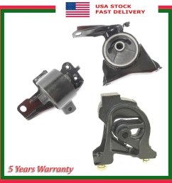 details about set 3pcs fwd engine motor transmission mount manual for geo prizm 1 6l 93 97 [ 1900 x 1959 Pixel ]