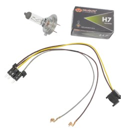 details about headlight wiring harness h7 55w headlight bulb for benz e320 e350 left right [ 1900 x 1900 Pixel ]