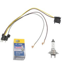 details about left right headlight wiring harness h7 100w headlight bulb for benz e500 e55 [ 1900 x 1900 Pixel ]