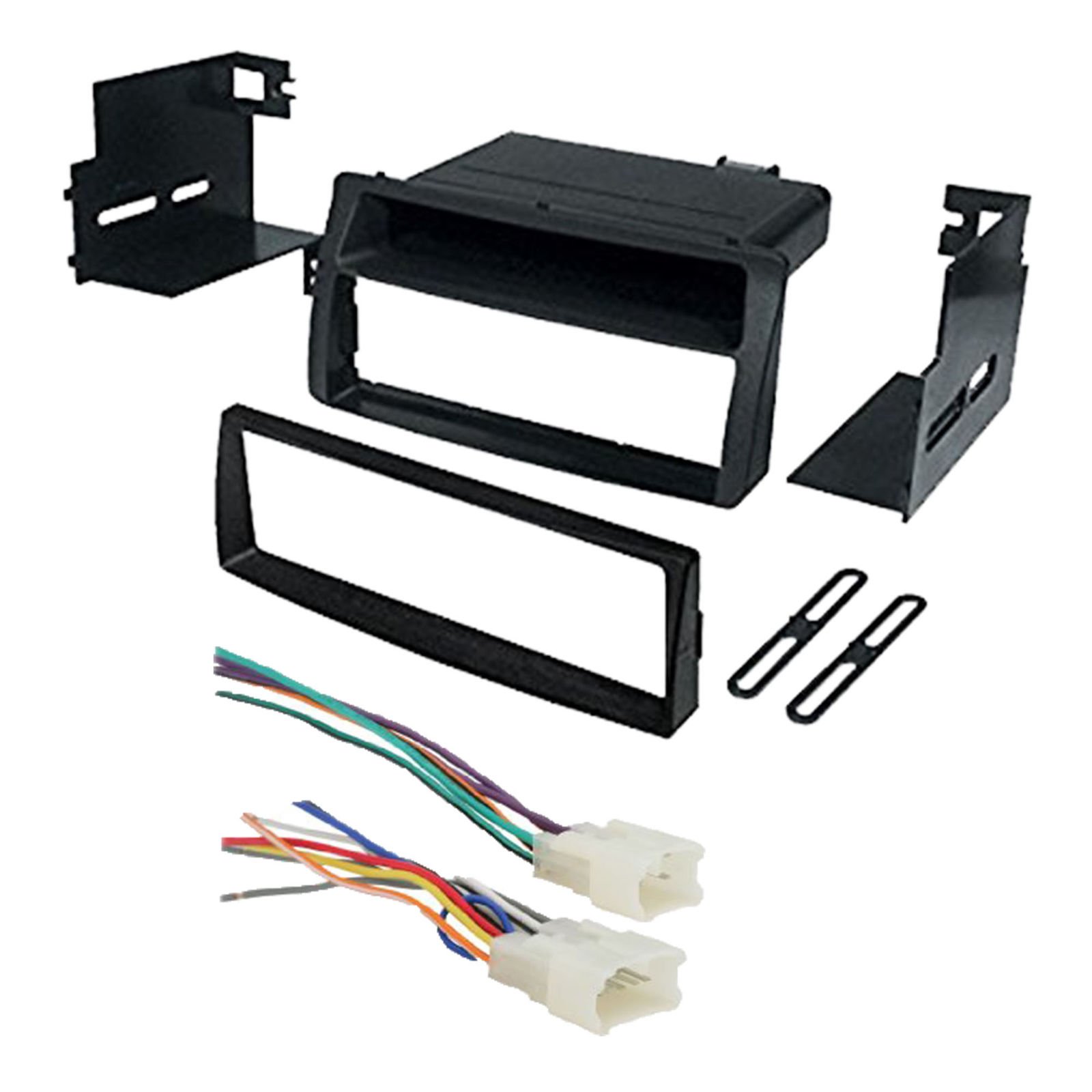 hight resolution of toyota corolla single din car stereo radio install dash mount kit radio wiring harness kits