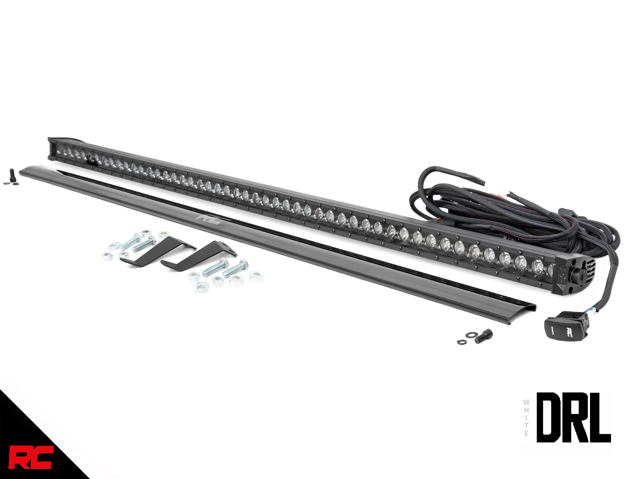 Rough Country 50 Led Windshield Kit Fits 16 20 Honda
