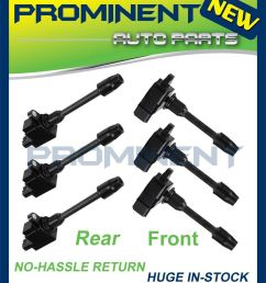 details about full set ignition coil for 00 01 infiniti i30 nissan maxima v6 3 0l uf348 uf363 [ 907 x 1050 Pixel ]