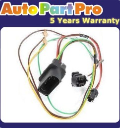 for vw passat 3b0971671 brand new headlight wire harness connector chevy 3 prong headlight plug sockets w 12 leads wiring harness ebay [ 1900 x 1900 Pixel ]