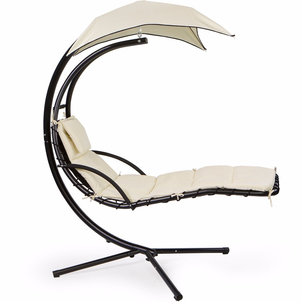 Barton Chair Barton Patio Hanging Helicopter Dream Lounger Chair Stand