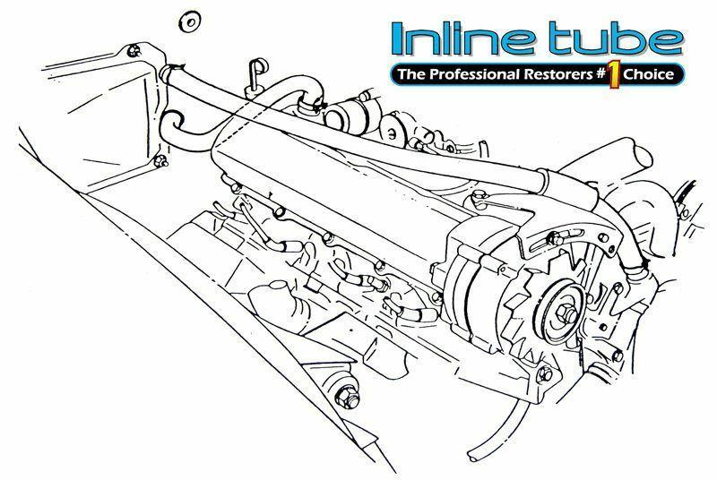 1966 67 68 69 70 442 GS W-30 GTO Heavy Wire Pinch Heater