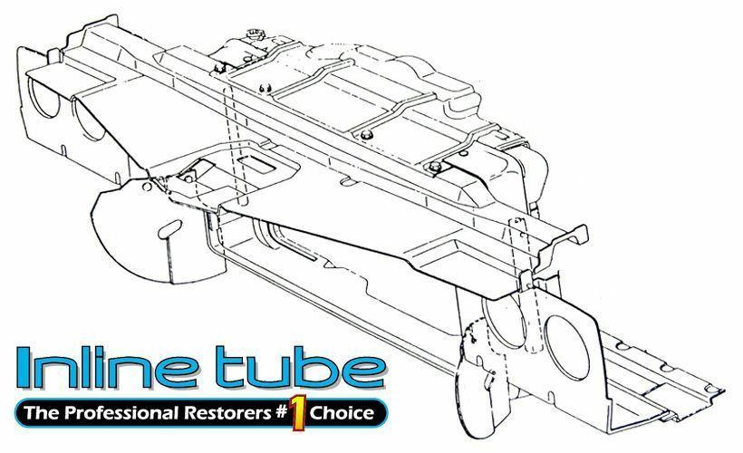 1971-72 Olds Cutlass 442 W-30 W-31 455 CID Core Support