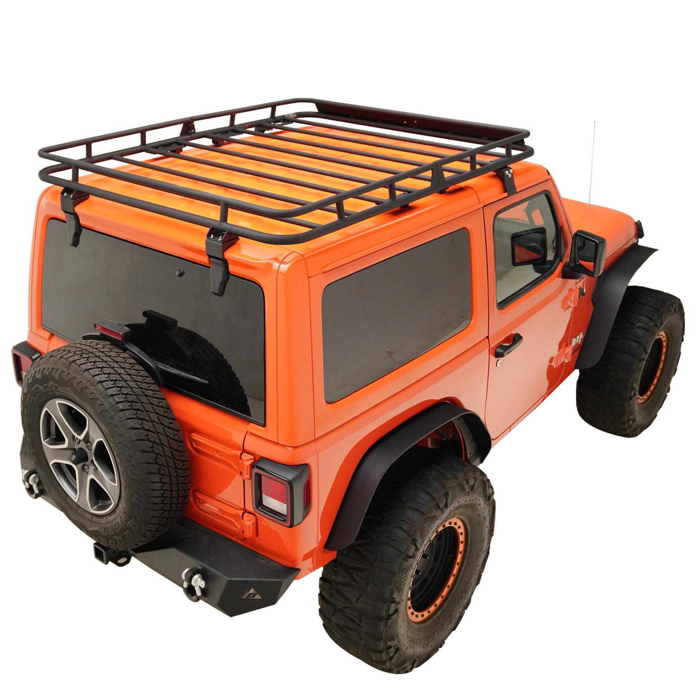 Fit For 18 20 Jeep Wrangler Jl 2 Door Roof Rack Cargo