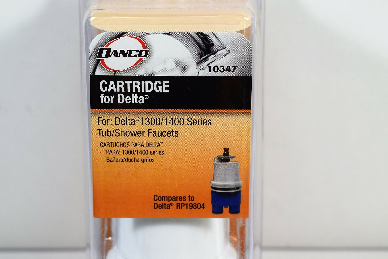 Details About Danco 10347 Replacement Cartridge For Delta Monitor 1300 1400 Series Tub Faucet