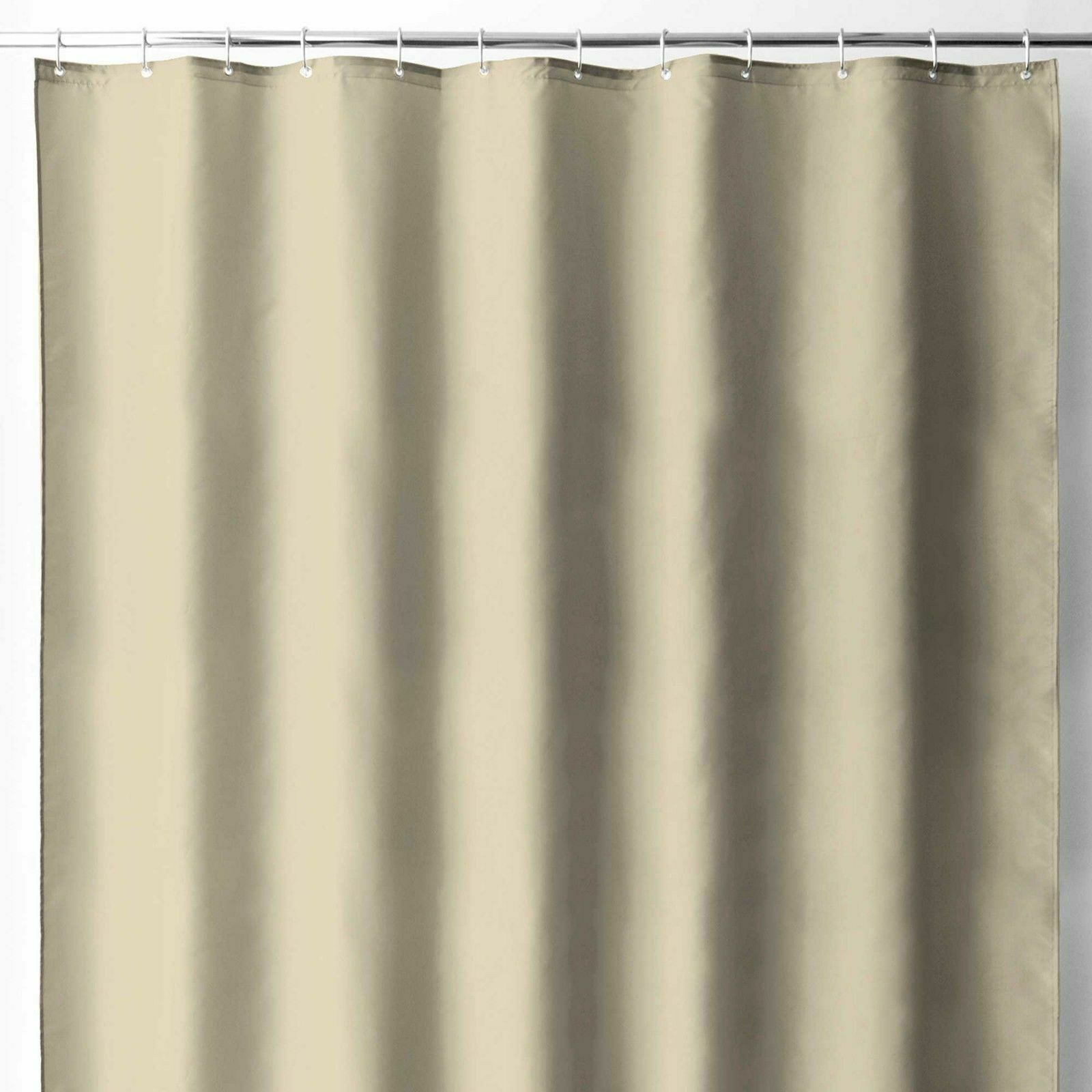 Details About New Wamsutta Luxury Fabric Shower Curtain Liner W Suction Cups 70 X72 In Linen