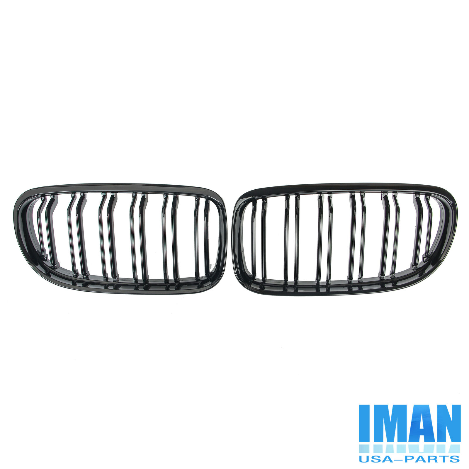 Gloss Black M3 Style Front Kidney Grille For Bmw Grill E90