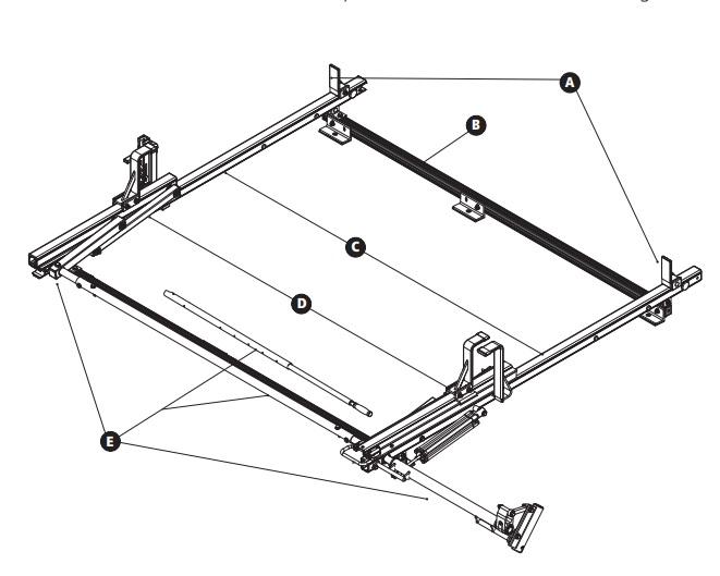 Prime Design HRB-E-FT-M, ROT-BASE 2CBR SLIDE H2 H3 TRANSIT