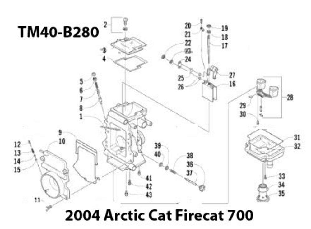 Arctic Cat F7 Parts Diagram