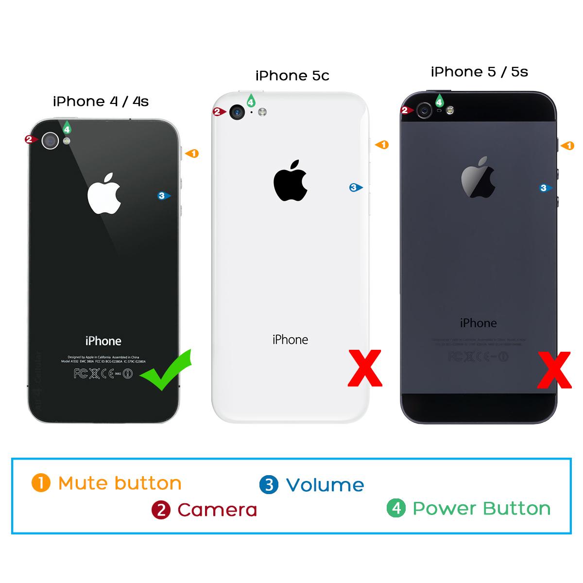 back of iphone 4s diagram ford explorer fuse panel ulak aluminum chrome coating bumper hard case cover