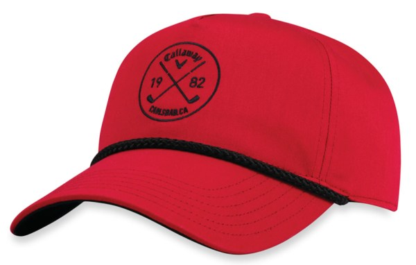 Callaway Rope Hat Golf Cap 2017 Adjustable Leather Strap
