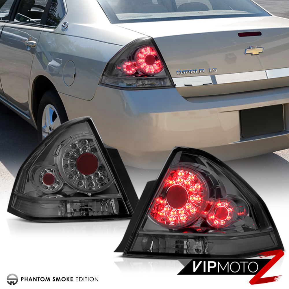 hight resolution of details about 2006 2013 chevy impala ls lt ss phantom smoke smd high power led tail lights