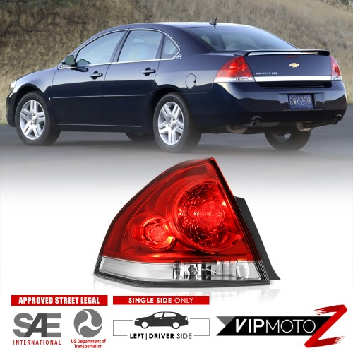 small resolution of details about lh driver side 2006 2013 chevrolet impala rear stop brake tail lights assembly