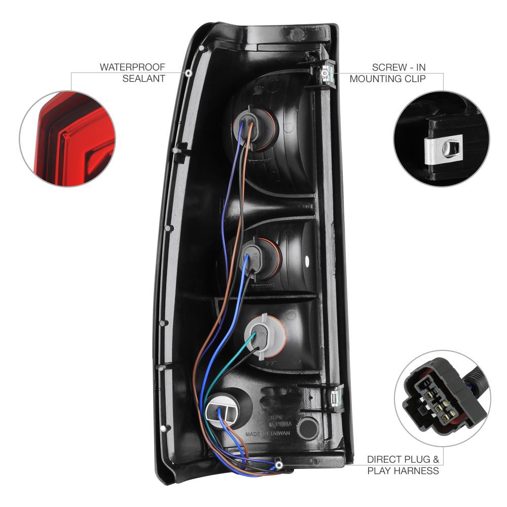 Chevrolet Tail Light Wiring Diagram