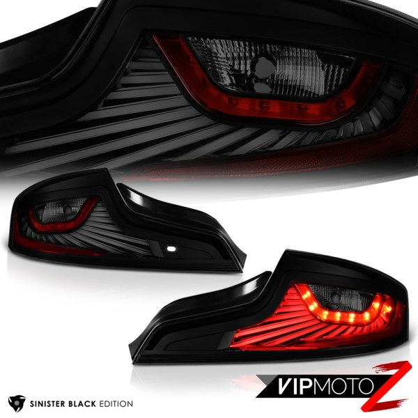 """latest Design"" Sinister Black Led Tail Lights 2006"