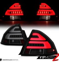 details about black smoke led plasma tube tail light brake lamp left right 06 13 chevy impala [ 1000 x 1000 Pixel ]