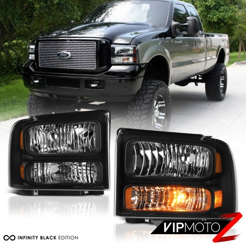 small resolution of details about pre installed led low beam 99 2004 ford f250 f350 superduty headlights bumper