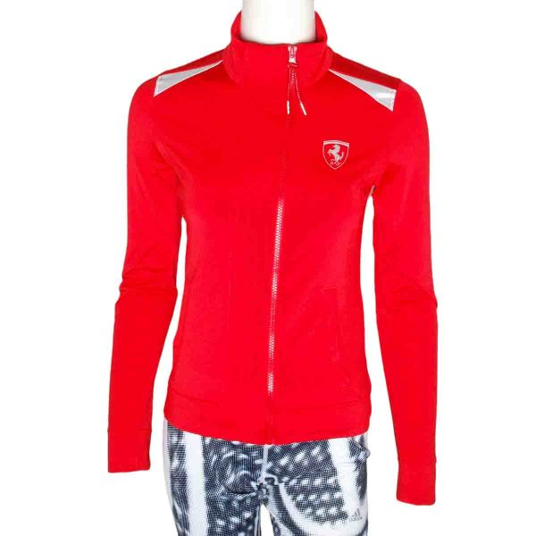 Puma Ferrari Womens Track Jacket Size Uk 6
