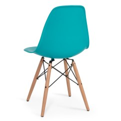 Eiffel Chair Wood Legs Wedding Cover Hire Lancashire Set Of 4 Dsw Dowel Eames Molded Abs Natural Wooden