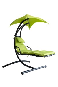 Lime Green Hanging Swing Hammock Canopy Chaise Lounger ...
