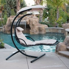 Hammock Chair Stands Tolix Side Hanging Chaise Lounger Arc Stand Air Porch Swing