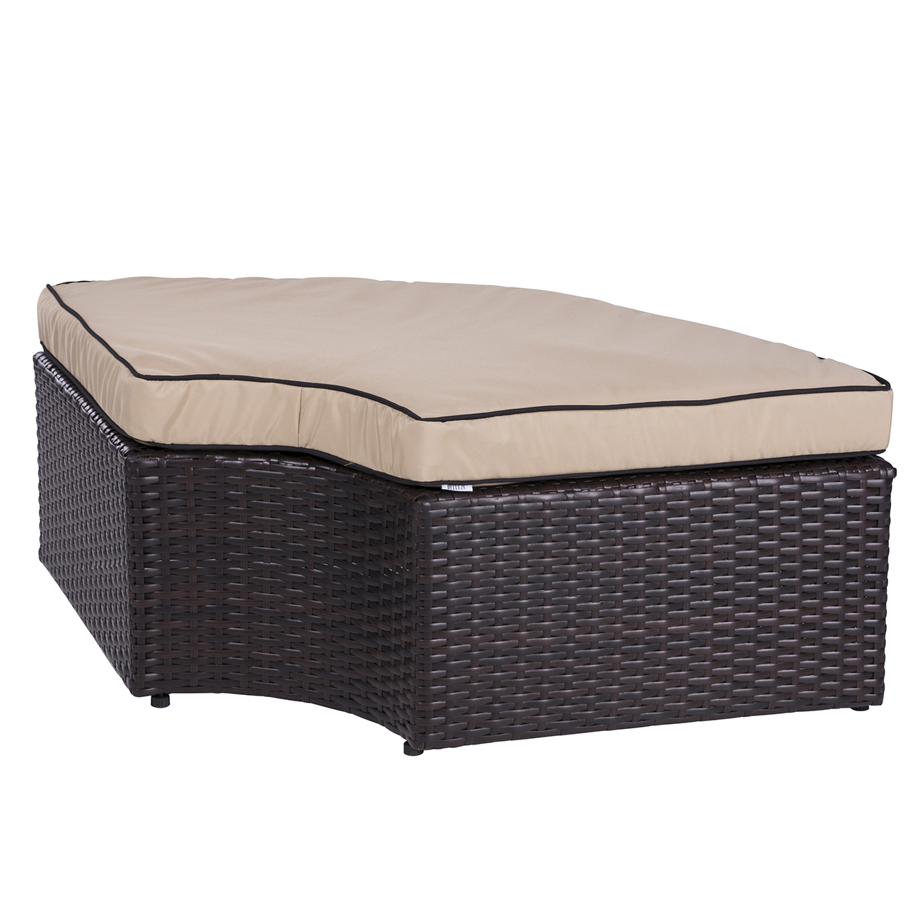 canopy daybed outdoor wicker sun sofa lounge diamond park ave eastern king bed in desert sand patio 2 1 rattan set round sunbed w