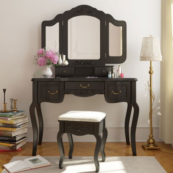 Vanity Makeup Table with Mirror