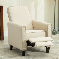 Recliner Club Chair Living Room Home Modern Design Recline