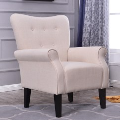 Abbyson Living Thatcher Fabric Rocking Chair In Beige Cover Hire Dandenong Button Back Armchair Accent High Room Bedroom