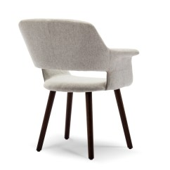 Modern Accent Chairs Purple Chair Covers For Wedding Mid Century Linen Living Room Pad Armrest Wooden