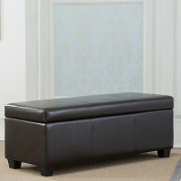 Contemporary Modern Faux Leather bedroom rectangular ...