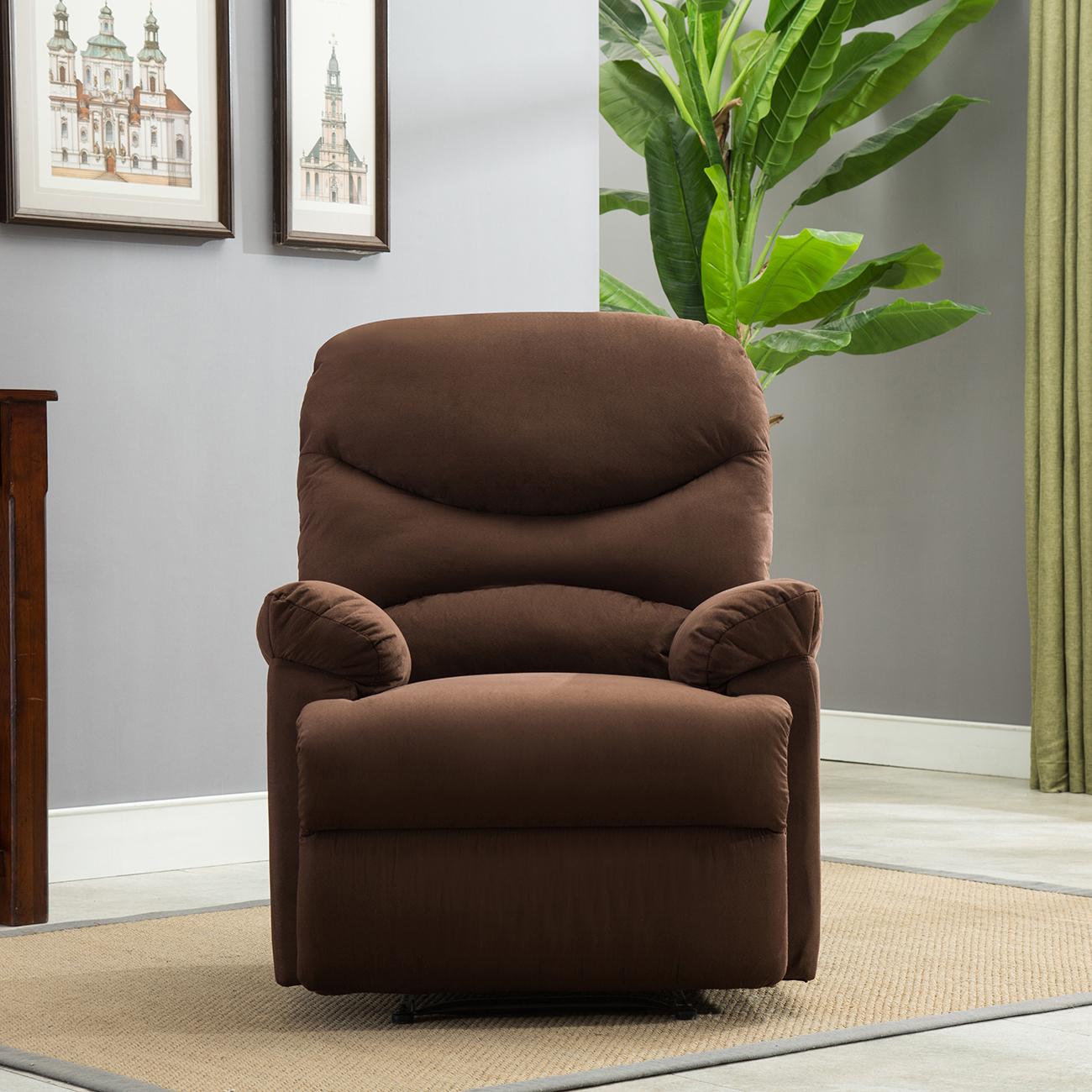 Plush Recliner Livingroom Reclining Chair Man Cave TV