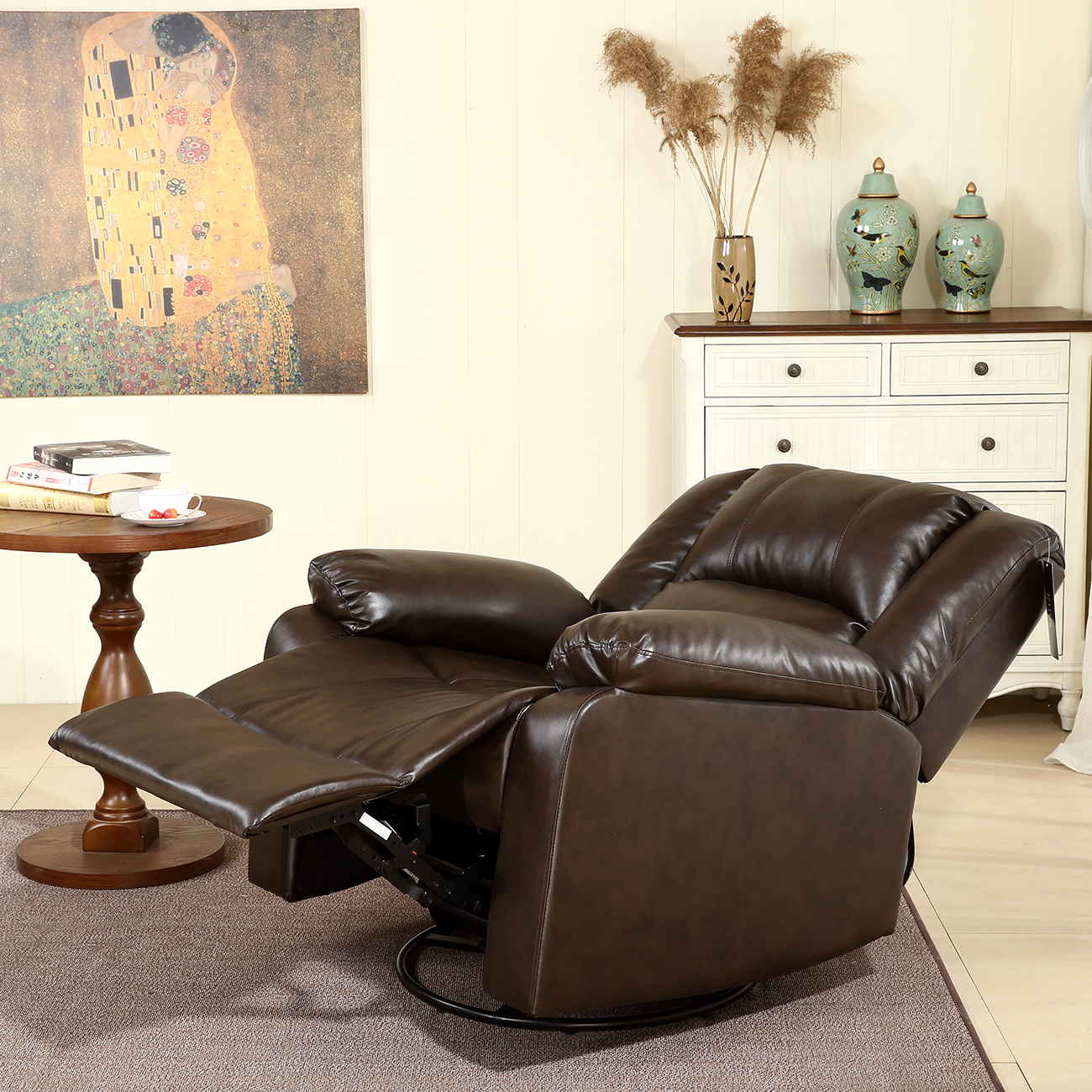 Rocking Swivel Chair New Recliner And Rocking Swivel Chair Leather Seat Living