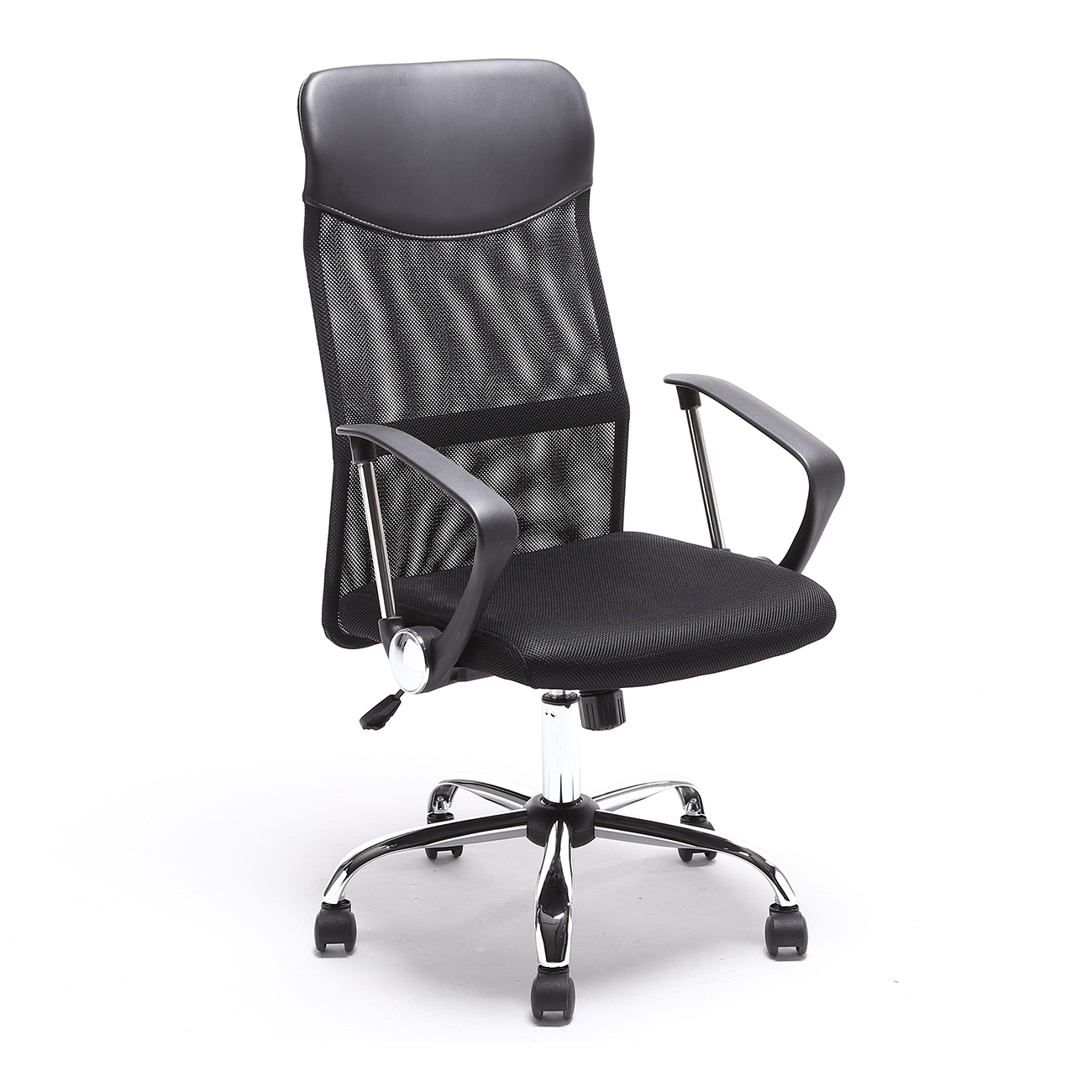 high quality office chairs ergonomic desk chair upright back pu leather executive
