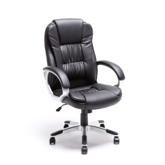 Gaming Chairs Pc World Target Graco High Chair Black Brown White Pu Leather Modern Executive Computer