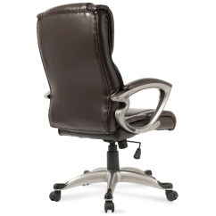 Desk Chair High Rubber Casters Executive Office Back Task Ergonomic Computer