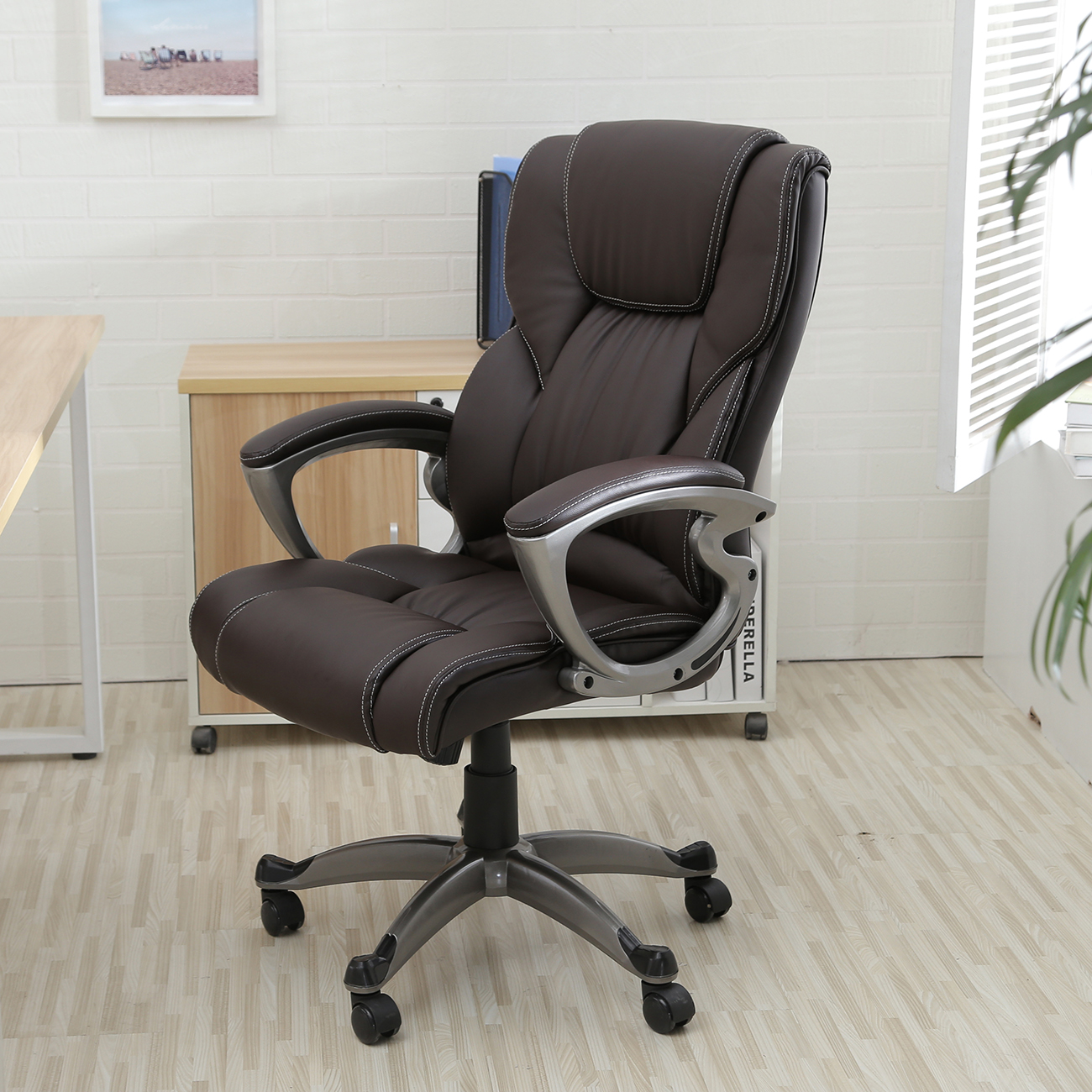 Comfortable Computer Chairs Executive Office Chair High Back Task Ergonomic Computer
