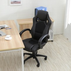 Computer Chairs For Gaming Portable Folding Chair High Back Race Car Style Bucket Seat Office Desk