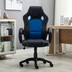 Mesh Gaming Chair Portable High Target Office Ergonomic Computer Pu Leather Desk Seat