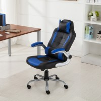 Executive Racing Style High Back Reclining Chair Gaming ...