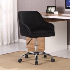 Office Chair Velvet Purple Bedroom Chairs Uk Modern Task Desk Adjustable Swivel Height W