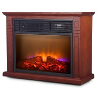 Large Room Electric Quartz Infrared Fireplace Heater ...