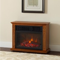 Large Room Electric Quartz Infrared Fireplace Heater