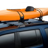 UNIVERSAL FIT MOUNT ROOF TOP SADDLE RACK CANOE SURF BOAT ...