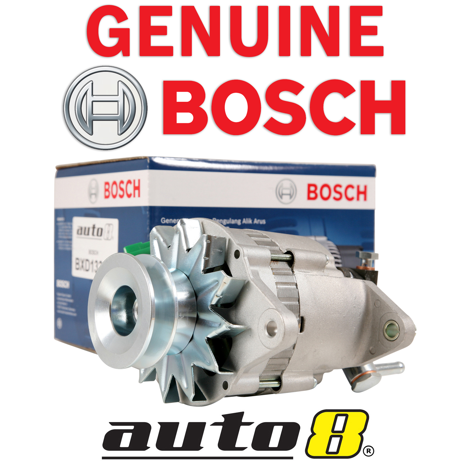 hight resolution of details about bosch alternator to fit toyota landcruiser 4 0l diesel 2h 1980 1990 hj60 hj75