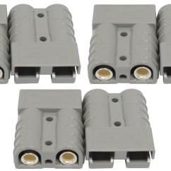 Anderson Plug Wiring Diagram For Caravan Venn Of 24 6 X Genuine Connector 50a Trailer