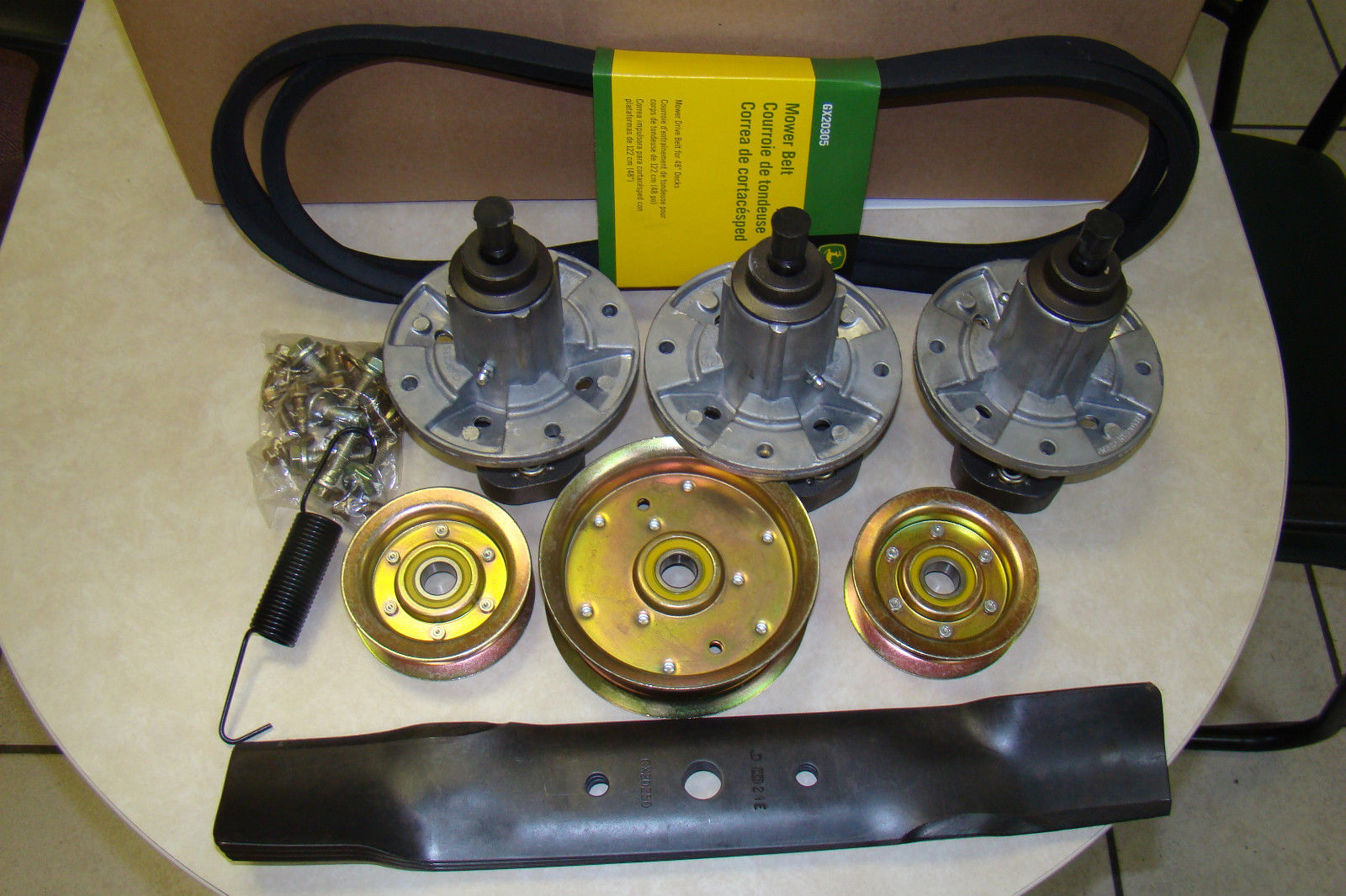 l130 mower deck belt diagram au falcon alternator wiring kubota parts rck60